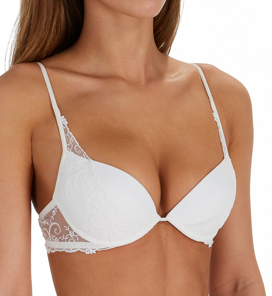 La Perla - La Perla 04351 Petit Jardin Push Up Bra (Off White 32B)