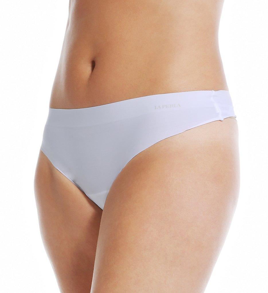 La Perla >> La Perla 20340 Invisible Thong (Bianco M)