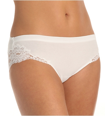 La Perla Black Women/'s Laced Bikini Panties US L IT 4