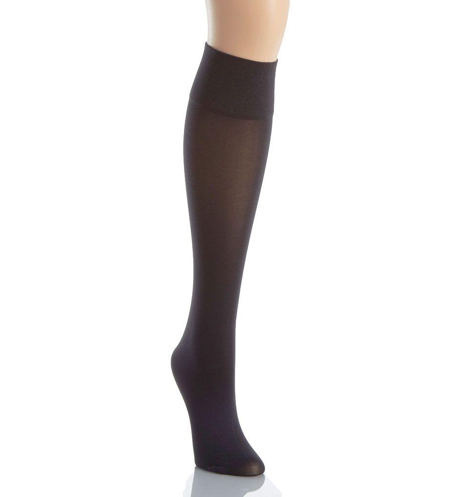 La Perla Calze Microfiber Opaque Knee Highs