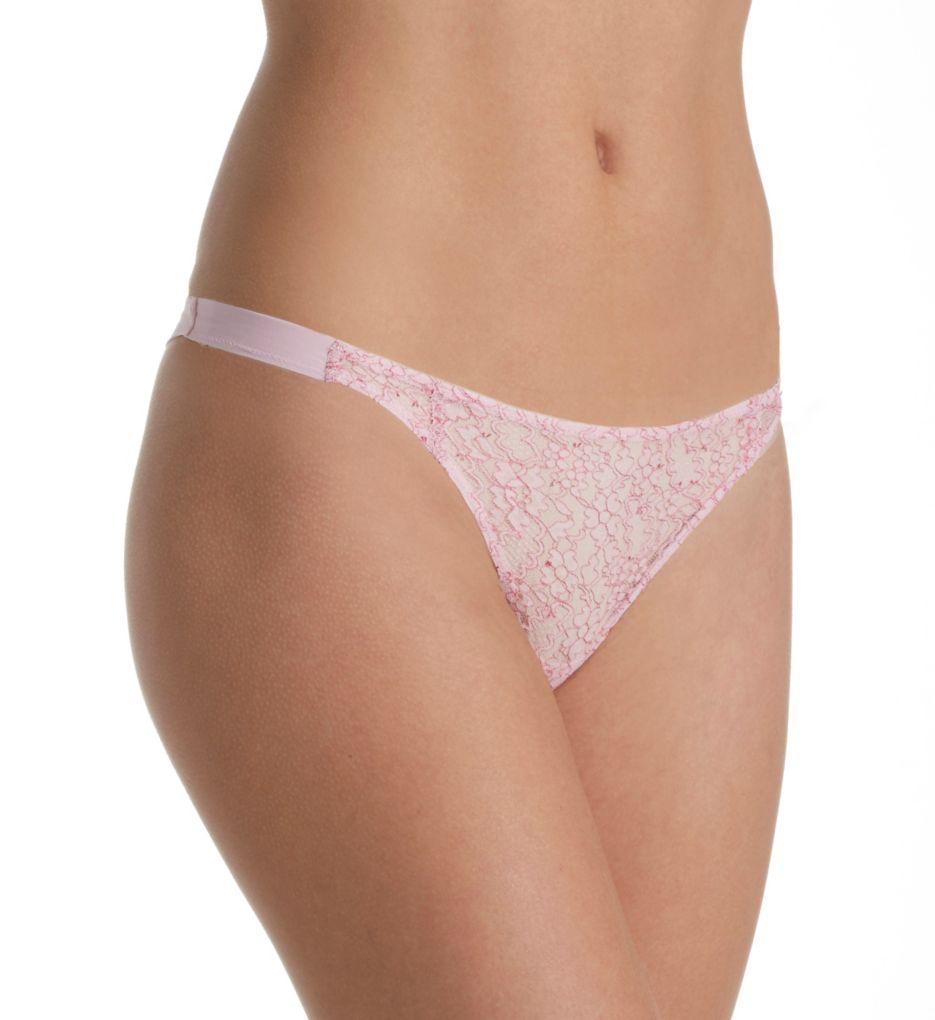 La Perla Binary Garden Thong Panty