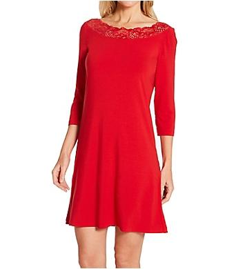 La Perla Layla 3/4 Sleeve Short Nightgown