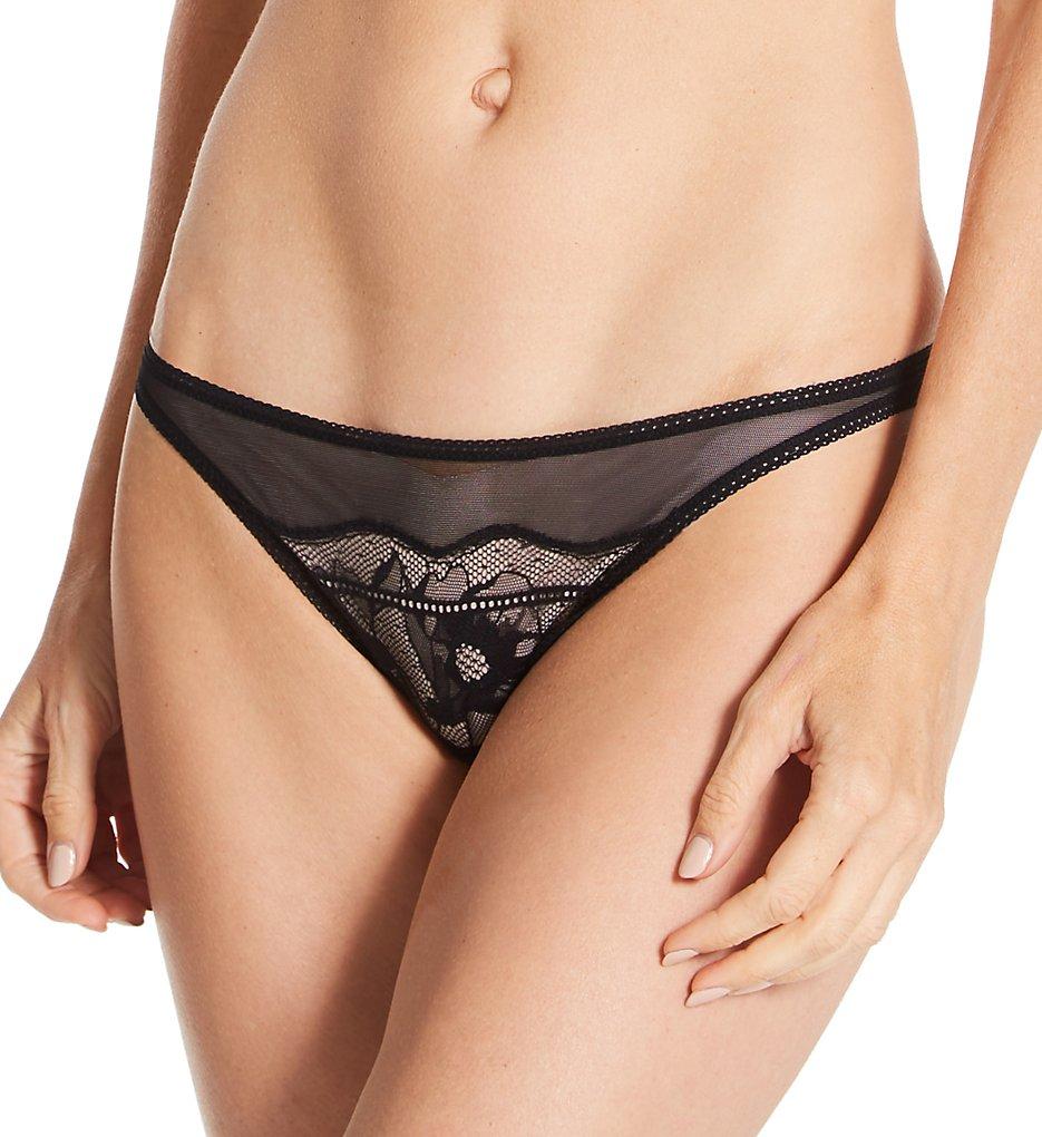La Perla 44600 Showtime G-String Panty (Black XS)