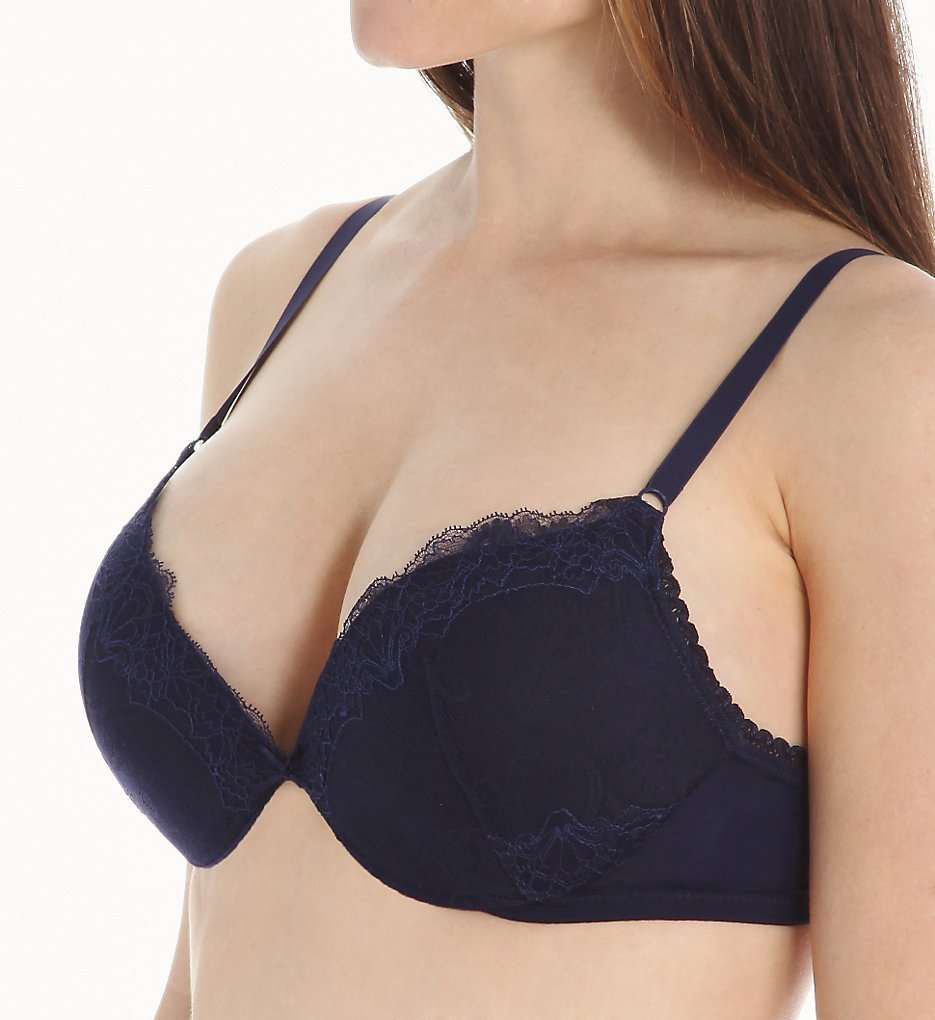 La Perla - La Perla 906300 Magnolia Push-Up Bra (Blue 36A)