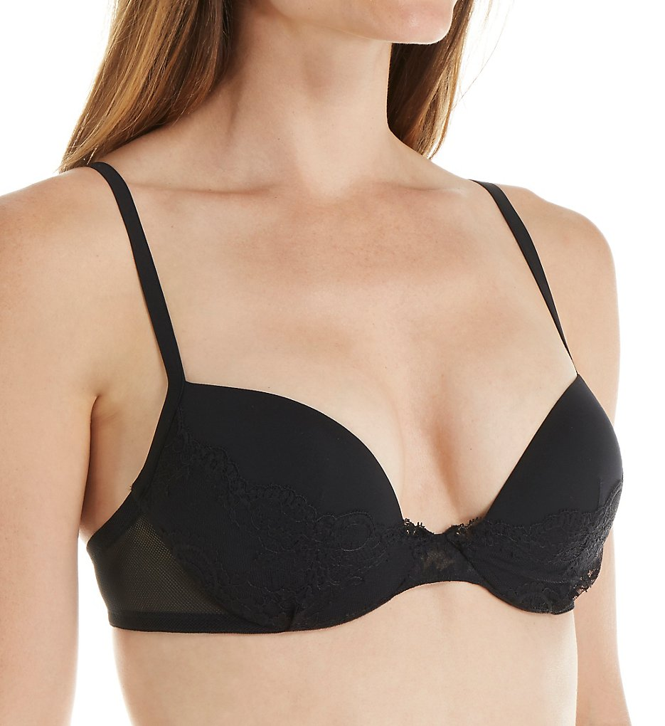 La Perla : La Perla 906668 Jazz Time Push Up Bra (Black 32D)