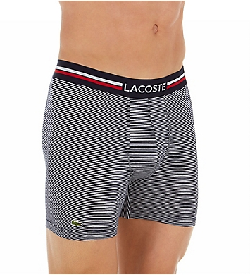 Lacoste Iconic Lifestyle Boxer Briefs - 3 Pack