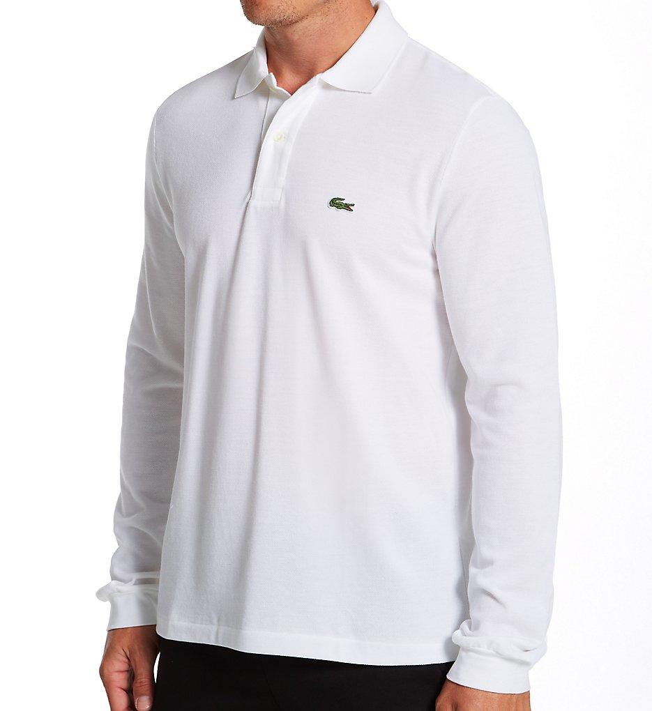 6fb227eef8d06a Lacoste Classic Pique 100% Cotton Long Sleeve Polo L1312-51 ...