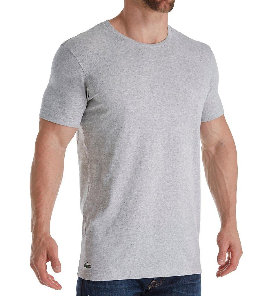 f5b03006346db Lacoste Essentials 100% Cotton Crew T-Shirts - 3 Pack RAM8701 ...