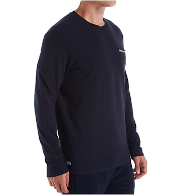 Lacoste Core Authentic Signature Long Sleeve Crew