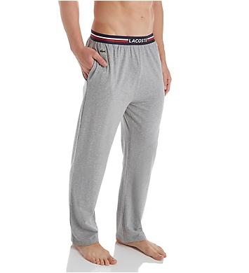 Lacoste Colors Cotton Stretch Knit Lounge Pant
