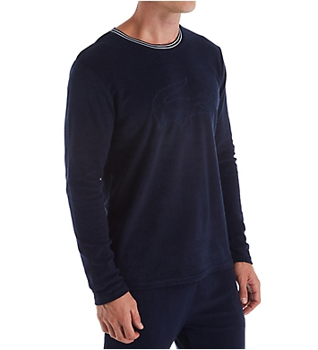 Lacoste Shower Terry Crew Neck