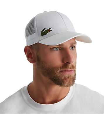 Lacoste Men's Performance Croc Logo Trucker Hat
