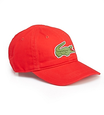 Lacoste Men's Big Croc Gabardine Hat