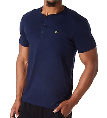 Lacoste Pima Cotton Jersey Henley