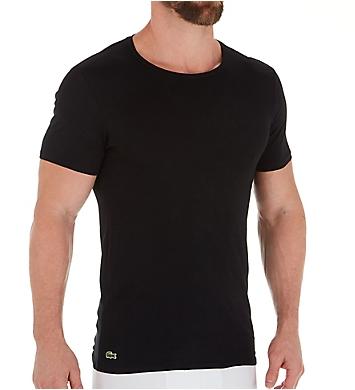 Lacoste Essential 100% Cotton Crew Neck T-Shirts - 3 Pack