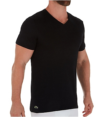 Lacoste Essential Slim Fit V-Neck T-Shirts - 3 Pack