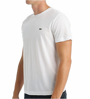 Lacoste Pima 100% Cotton Crew Neck Short Sleeve T-Shirt