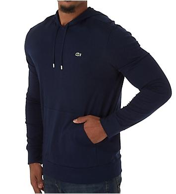 Lacoste Hooded Cotton Jersey Sweatshirt