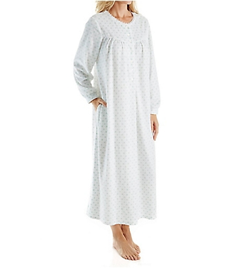 Lanz of Salzburg Microfleece Long Gown