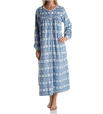 Lanz of Salzburg Microfleece Long Sleeve Gown