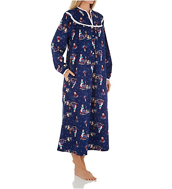 Lanz of Salzburg Long Sleeve 50 Inch Long Ballet Gown