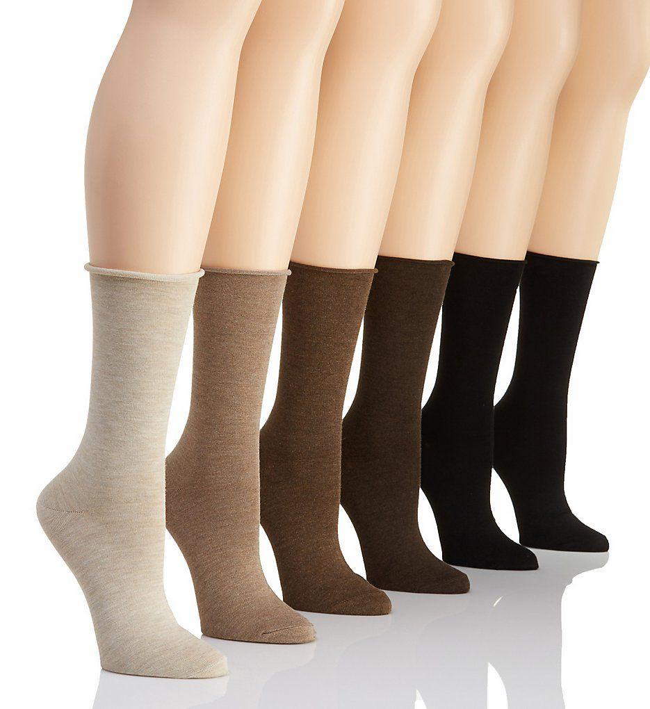 Lauren Ralph Lauren Lauren Roll Top Trouser Sock - 6 Pack