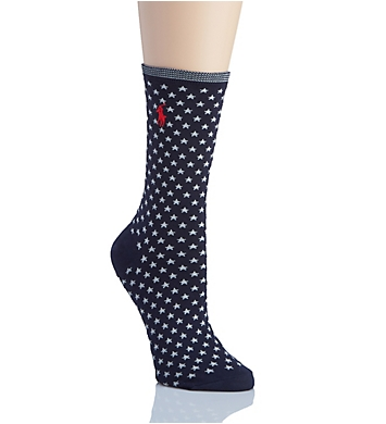 Lauren Ralph Lauren Polo Singles All Over Stars Trouser Socks