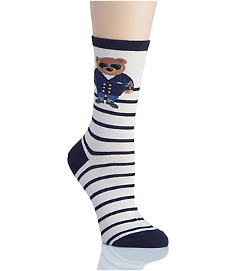 Lauren Ralph Lauren Polo Singles Commodore Bear Trouser Socks