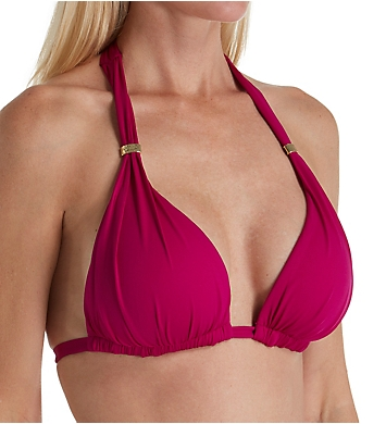 Lauren Ralph Lauren Beach Club Halter Bikini Swim Top