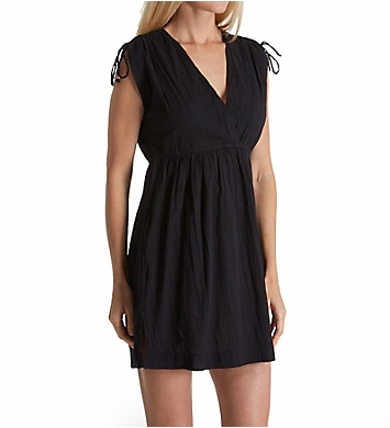 Lauren Ralph Lauren Crushed Cotton Farrah Dress Cover Up