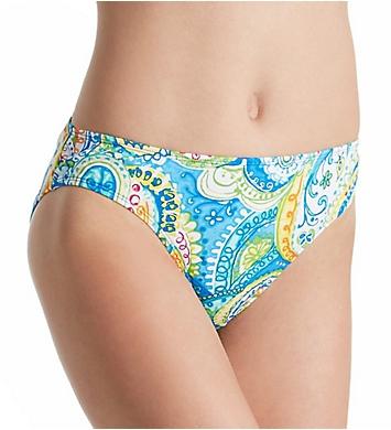 Lauren Ralph Lauren Carnivale Paisley Hipster Swim Bottom