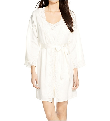 Lauren Ralph Lauren Sleepwear Satin Essentials Kimono Robe