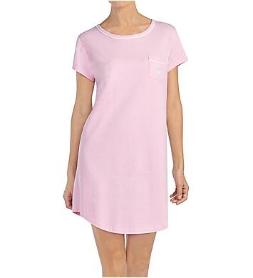 Lauren Ralph Lauren Sleepwear Pique Knits Short Sleeve Sleep Tee