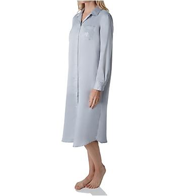 Lauren Ralph Lauren Sleepwear Satins Long Sleeve Ballet Sleepshirt