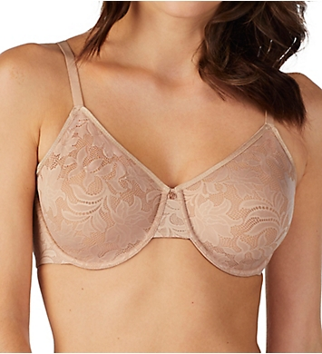 Le Mystere Lace Comfort Unlined Underwire Bra