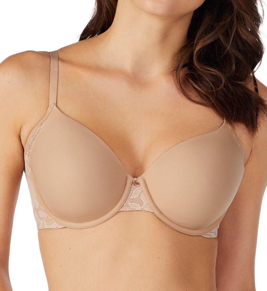 Le Mystere 3352 Lace Comfort Underwire T-Shirt Bra (Natural)