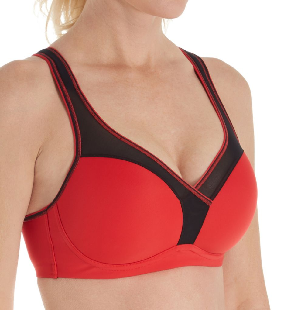 Le Mystere Light Impact Wirefree Sports Bra
