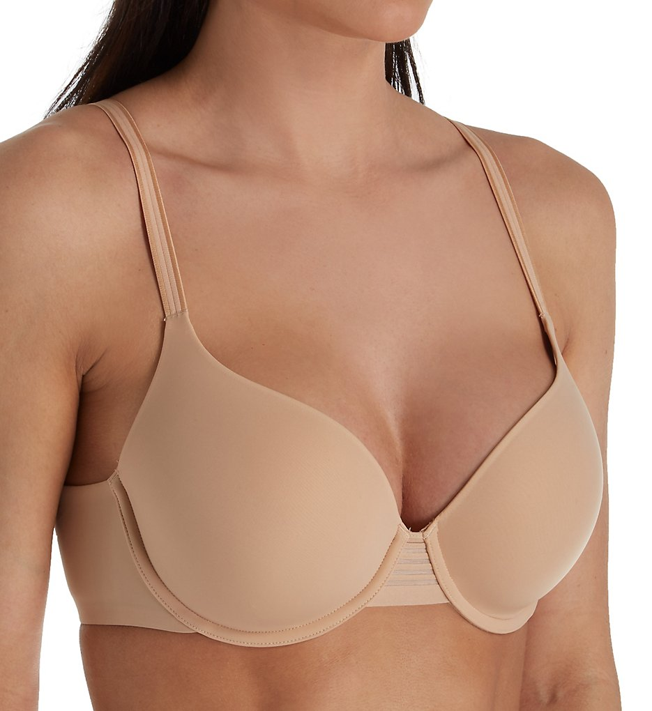 Le Mystere 5221 Second Skin Back Smoother T-Shirt Bra (Natural)