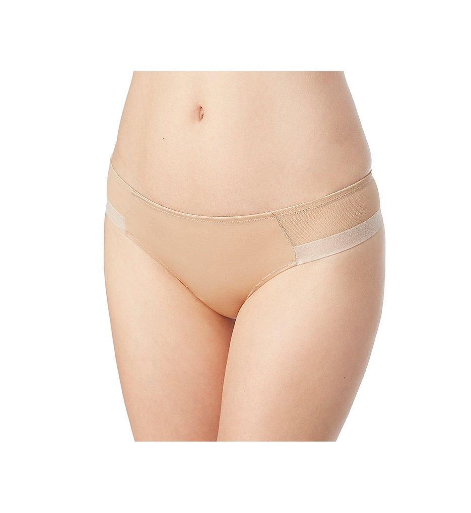 Le Mystere - Le Mystere 6124 Infinite Edge Mesh Bikini Panty (Natural XL)
