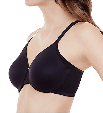 1ce8525e5 Le Mystere Smooth Profile Smoothing Minimizer Underwire Bra. Front. Side