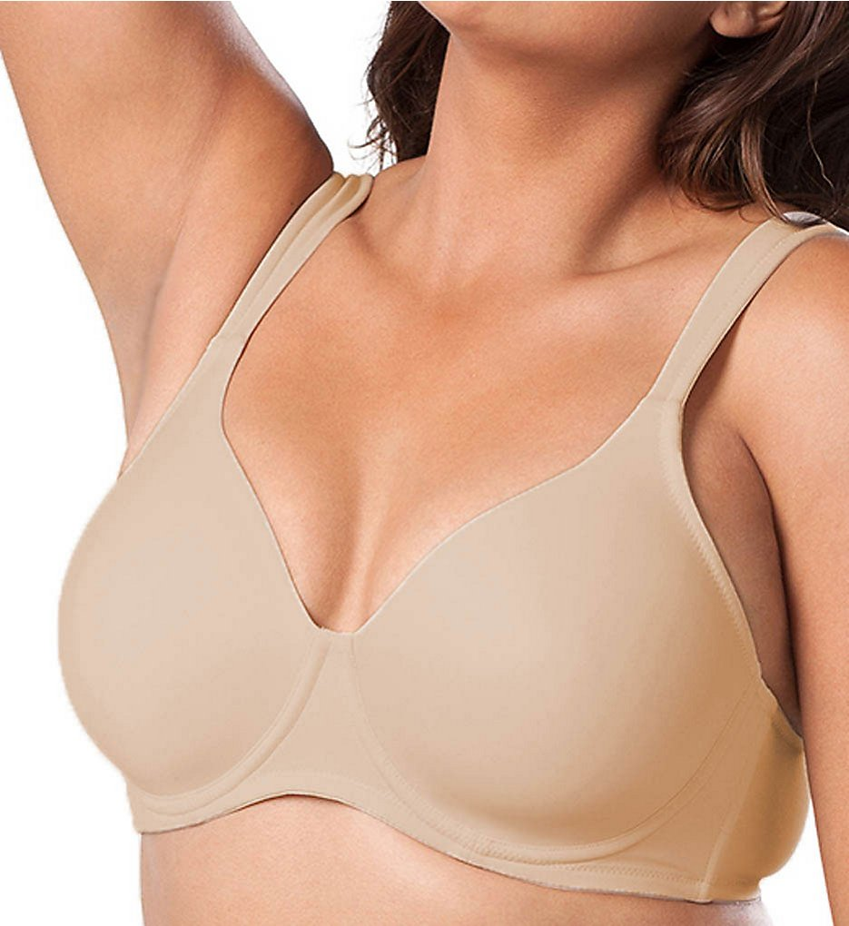Leading Lady : Leading Lady 5028 Lightly Padded Contour Underwire Bra (Nude 38A)