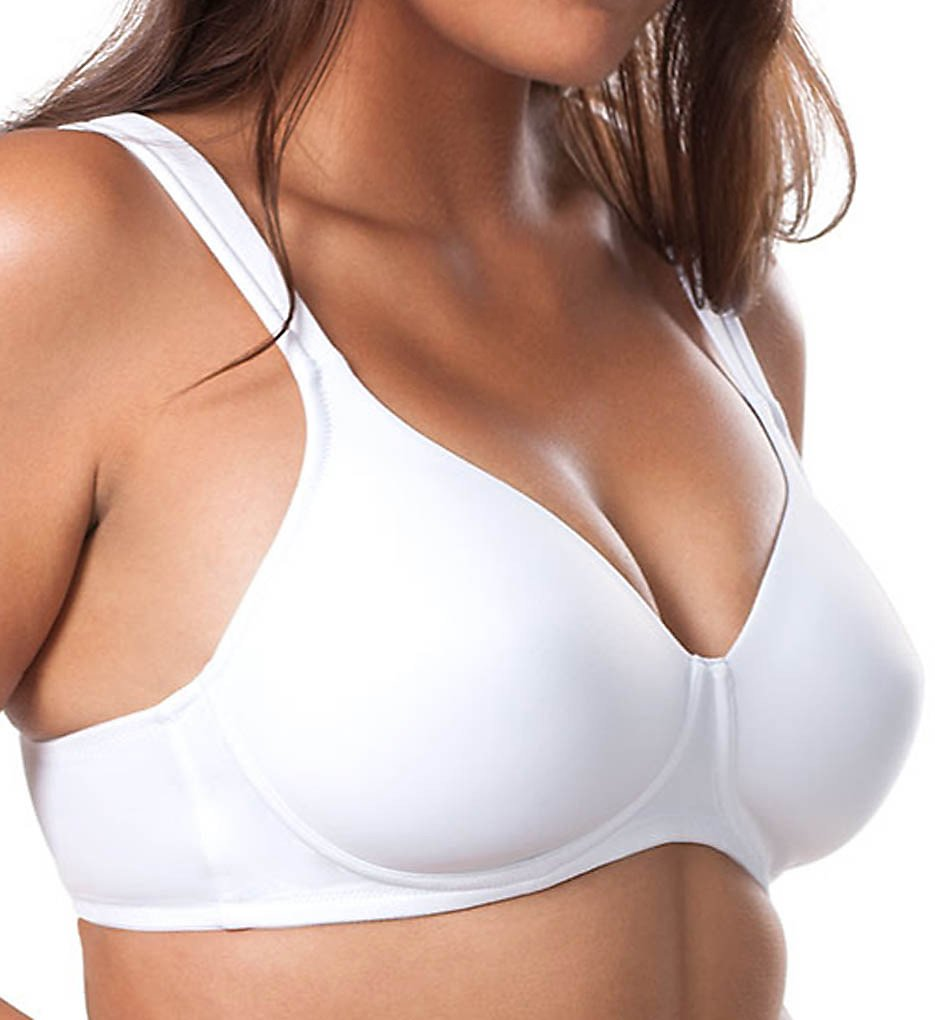 Leading Lady 5042 Molded Soft Cup Bra (White)
