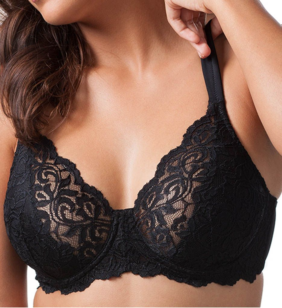 Leading Lady Scallop Lace Cup Underwire Bra