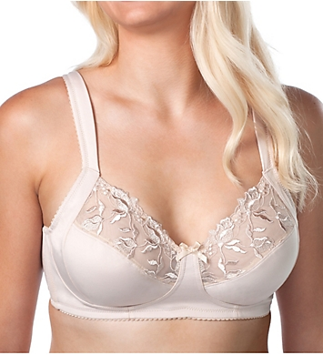 Leading Lady Dreamy Comfort Wirefree Half Cup Lace Bra