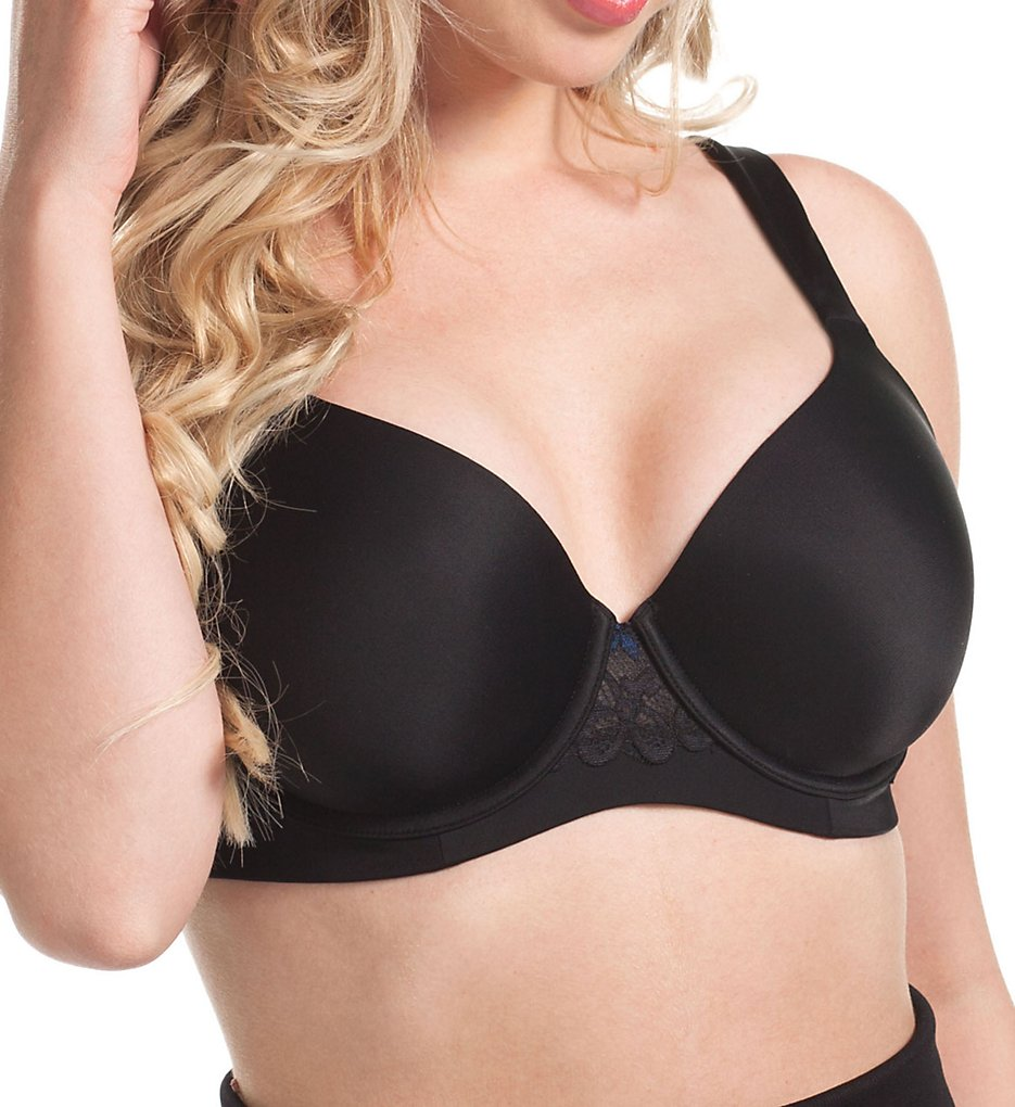 Leading Lady : Leading Lady 5215 Balconette Wirefree T-Shirt Bra (Black 36A)