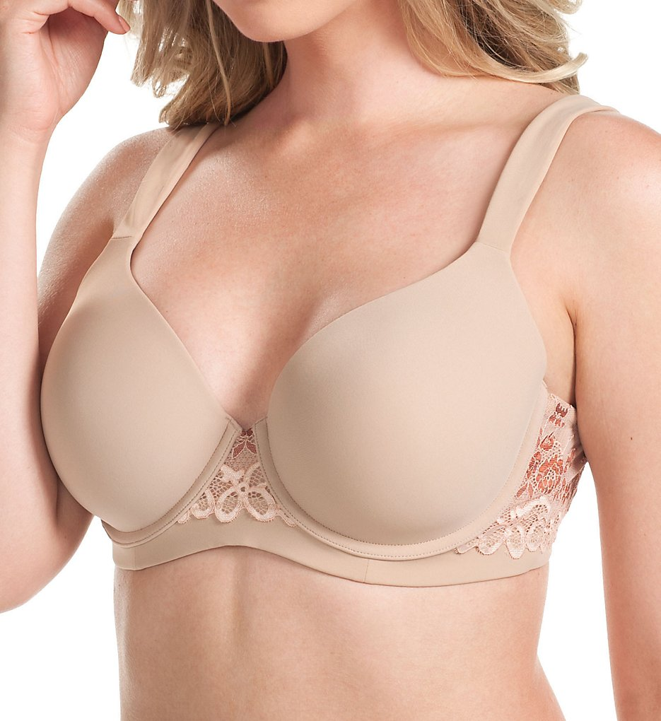 Leading Lady 5215 Balconette Wirefree T-Shirt Bra (Warm Taupe)