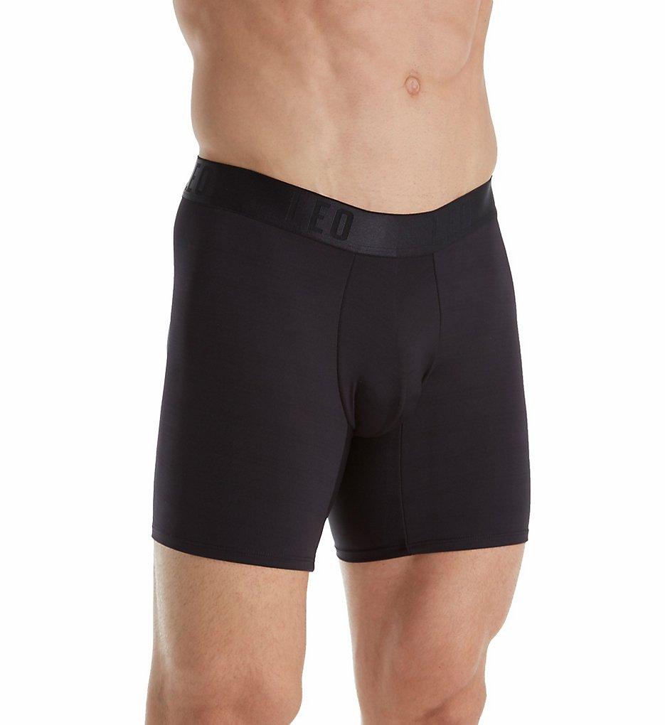 50572b4911f2c Leo 033280 Men s Padded Butt Enhancer Boxer Briefs (Black)