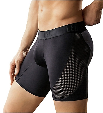 Leo Cool Mesh Sport Boxer Brief With Custom Fit Pouch