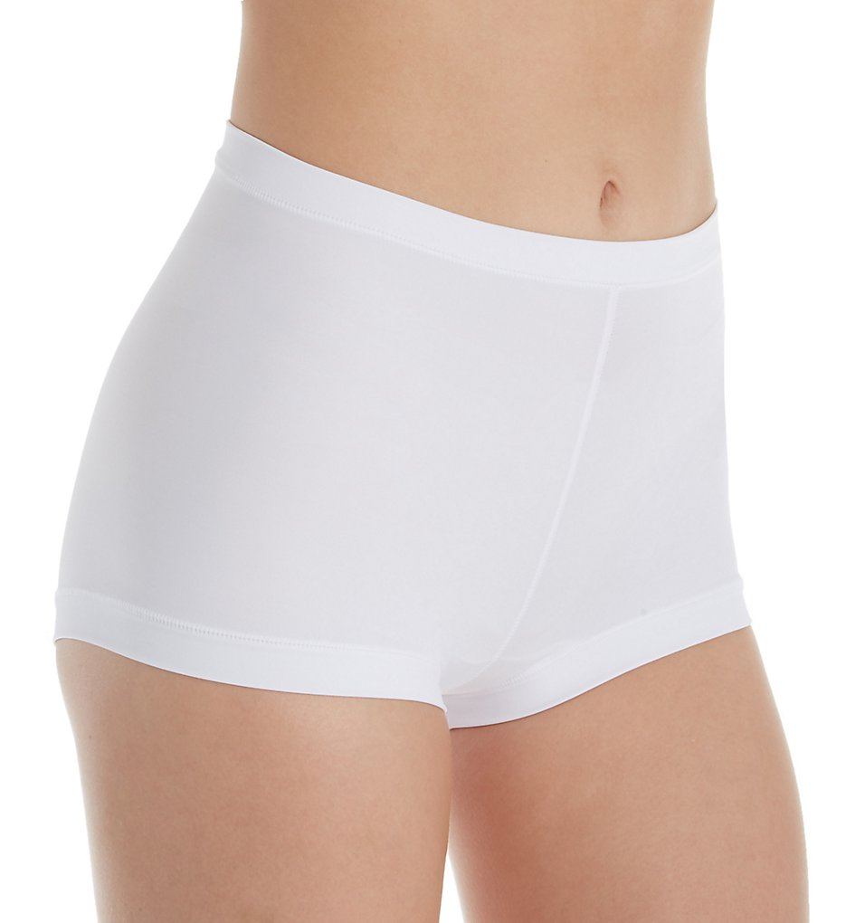 Leonisa - Leonisa 012640 Perfect Fit Boyshort Panty (White S)