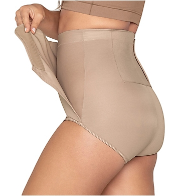 Leonisa High Waisted Postpartum Panty with Adjustable Wrap